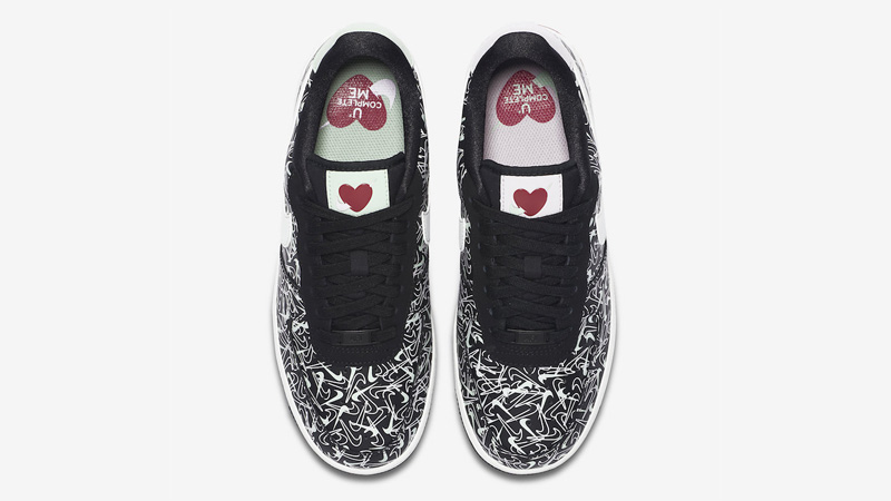 Nike Air Force 1 Low Valentines Day Black BV0319 002Eneste kvinder BV0319 002 The Sole Womens