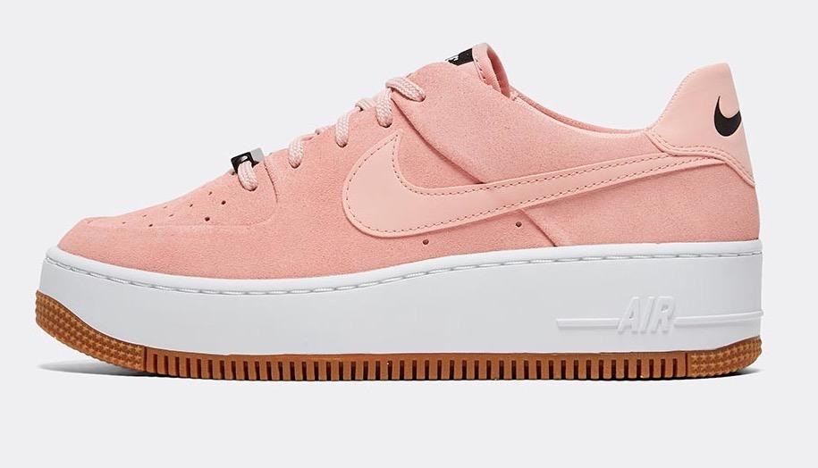 Nike Air Force 1 Sage Coral Stardust