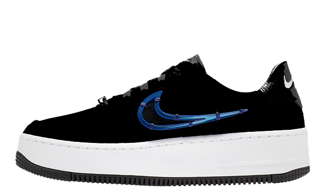 Nike Air Force 1 Sage Low LX Black Blue CI3482 001  CI3482 001