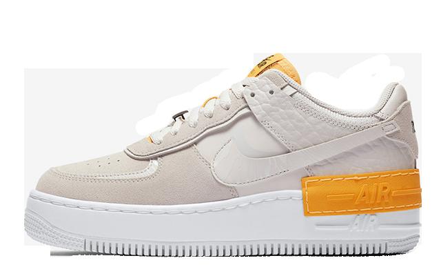 Nike Air Force 1 Shadow Beige Orange CU3446-001