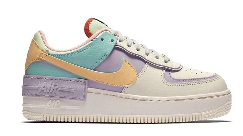Nike Air Force 1 Shadow Pastel Multi