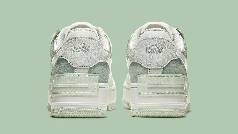 Nike Air Force 1 Shadow Pistachio Frost side back copy