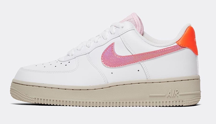Nike Air Force 1 White Digital Pink