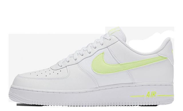 Nike Air Force 1 White Volt CD1516-100