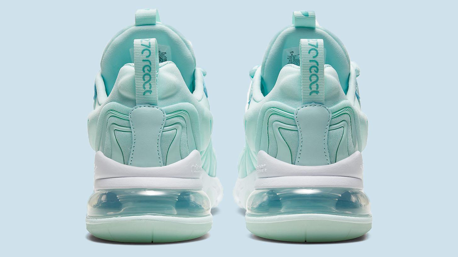 Minty Blue Hues Refresh This Nike Air Max 270 React Eng Upcoming
