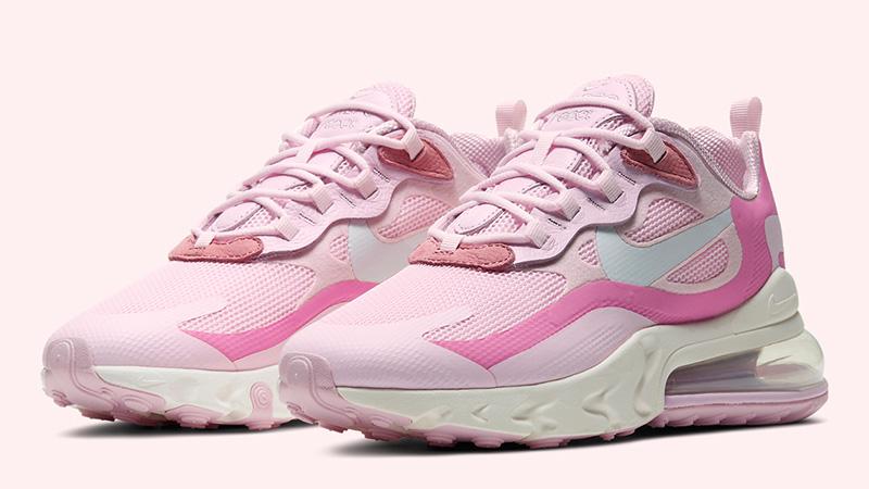 Nike Air Max 270 React Pink CZ0364-600 front