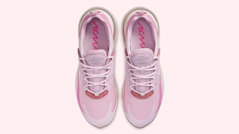 Nike Air Max 270 React Pink CZ0364-600 middle