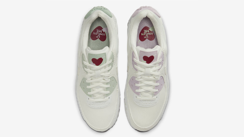 Nike Air Max 90 Valentines Day White CI7395-100 middle