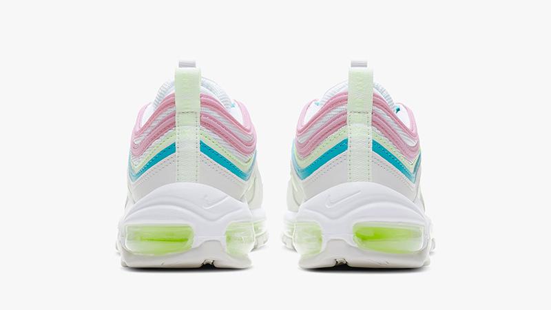 Nike Air Max 97 White Pink CW7017-100 back