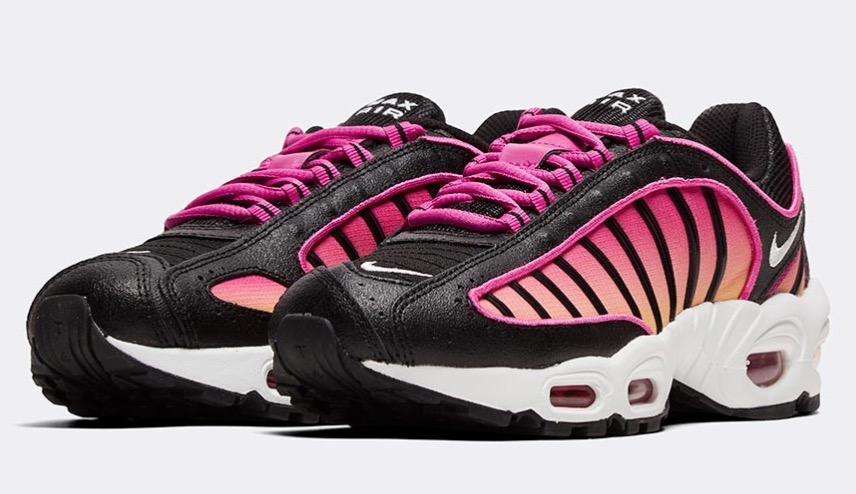 Nike Air Max Tailwind Black Fire Pink front