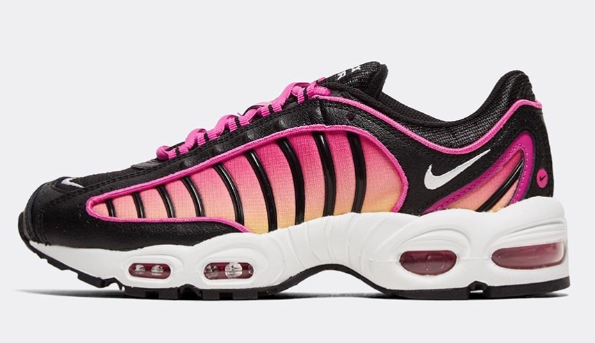 Nike Air Max Tailwind Black Fire Pink side