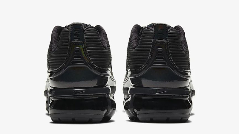 Nike Air VaporMax 360 Black Metallic Silver Womens CK2719-002 back