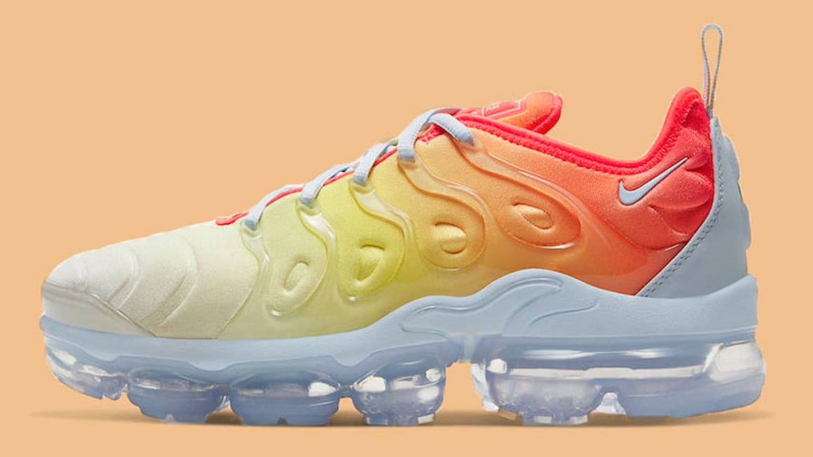 The Nike Air VaporMax Plus Looks Hotter Than Ever In 'Sunrise ...