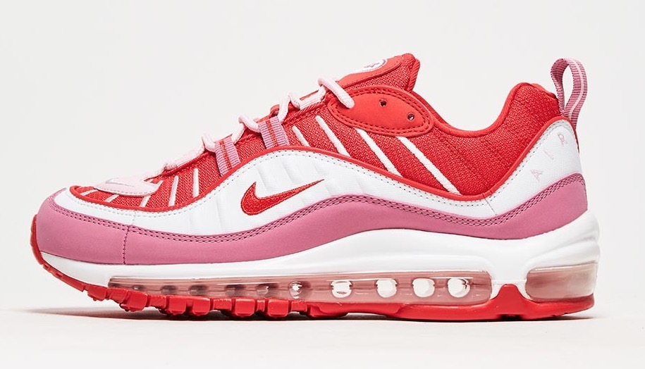 Nike Air max 98 White Red pink
