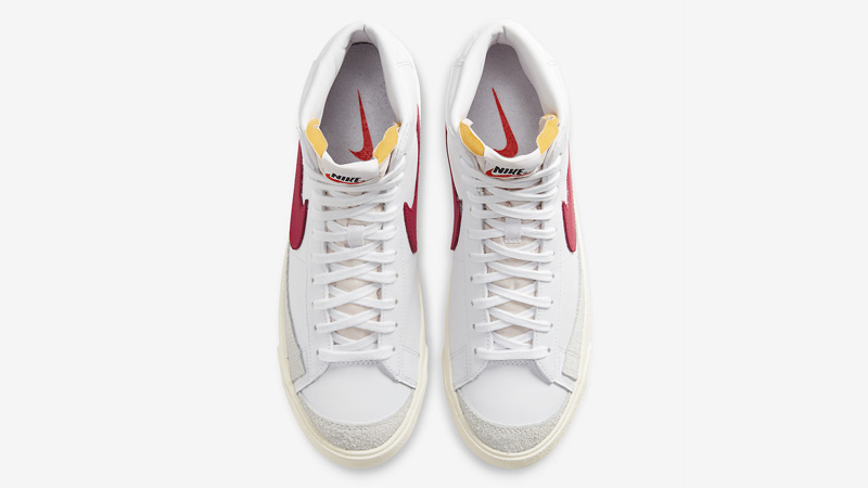 Nike Blazer Mid 77 White Red BQ6806-102 middle