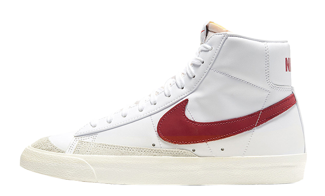 Nike Blazer Mid 77 White Red BQ6806-102