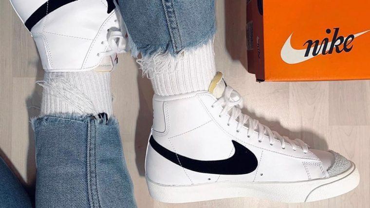 Nike Blazer Mid Vintage 77 Black White