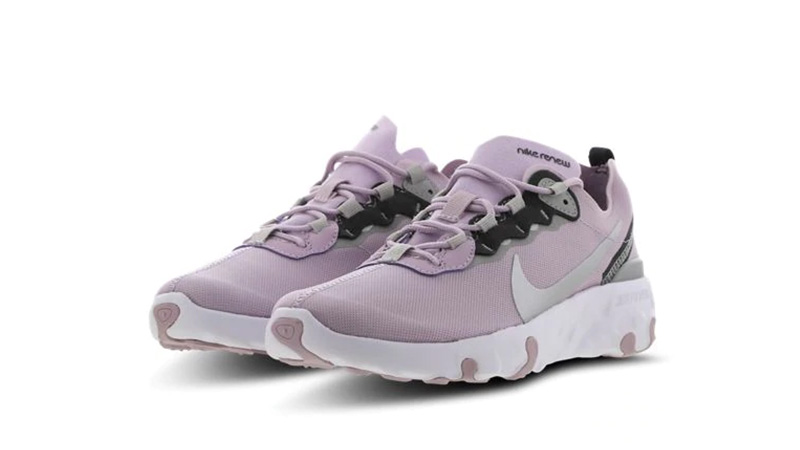 Nike Element 55 GS Lilac Grey CK4081-500 front