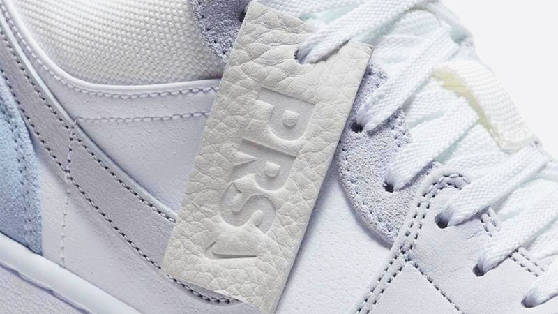 Nike Jordan 1 Low Paris close up