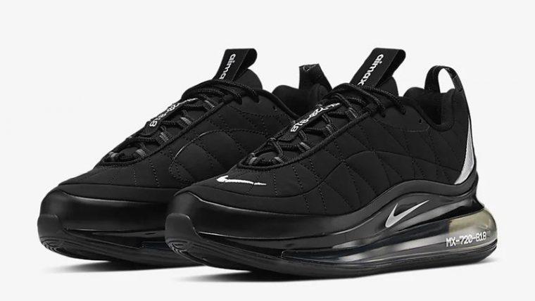 Nike MX-720-818 Black CI3869-001 front thumbnail image