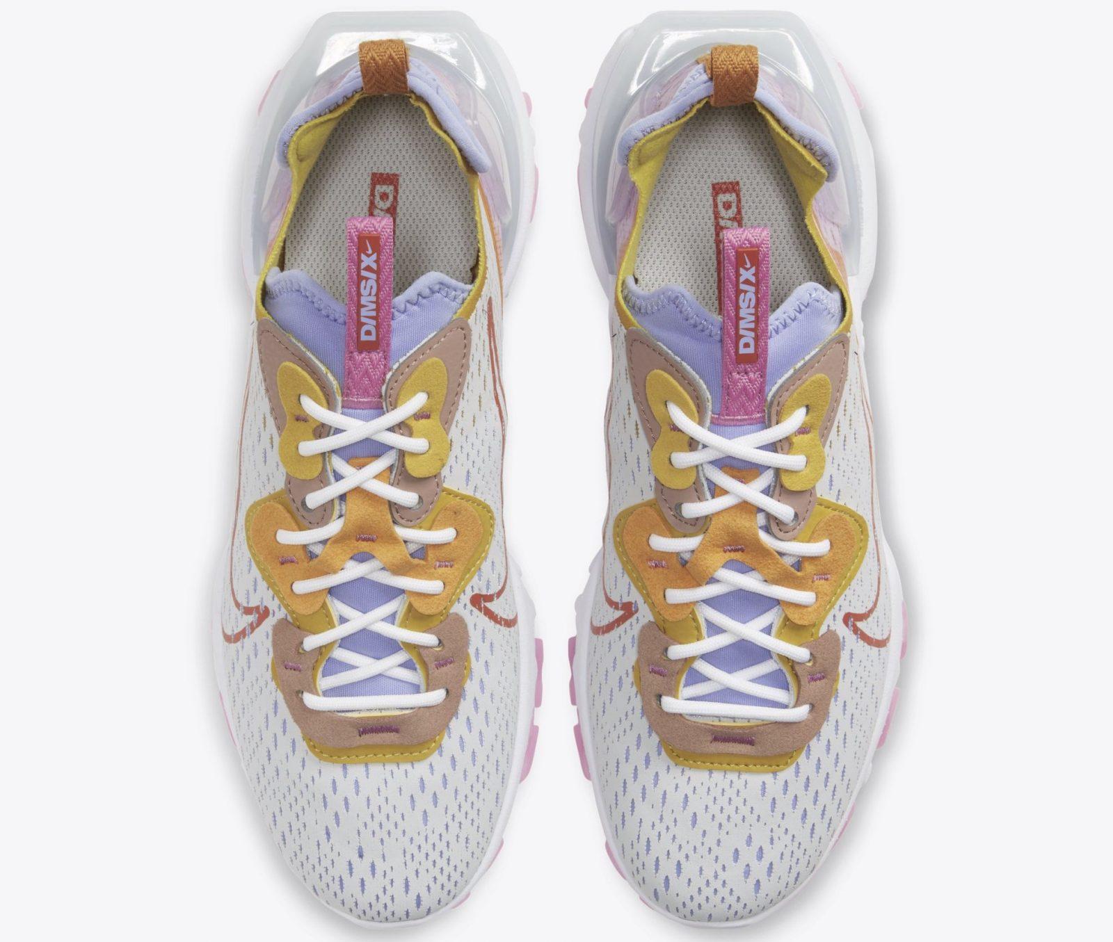 Nike React Vision Platinum Pink | CI7523-003 laces