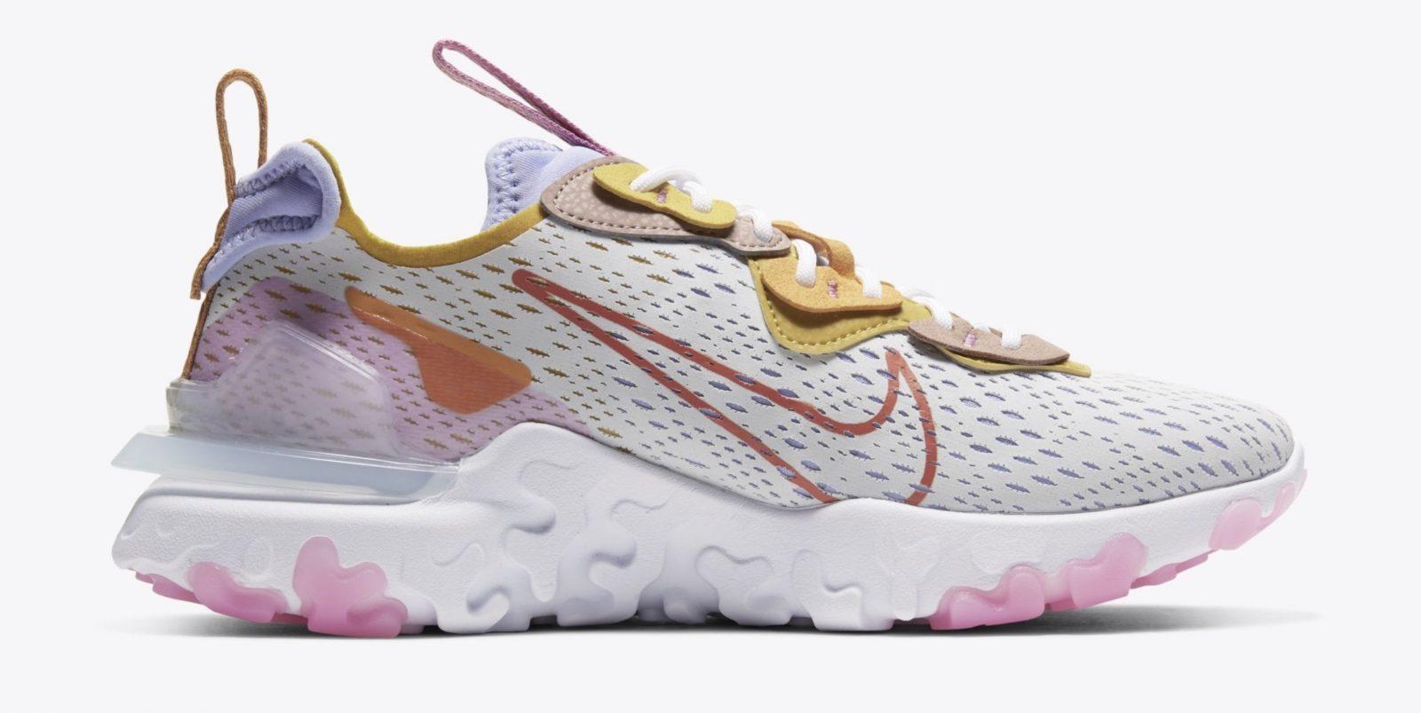Nike React Vision Platinum Pink | CI7523-003 right