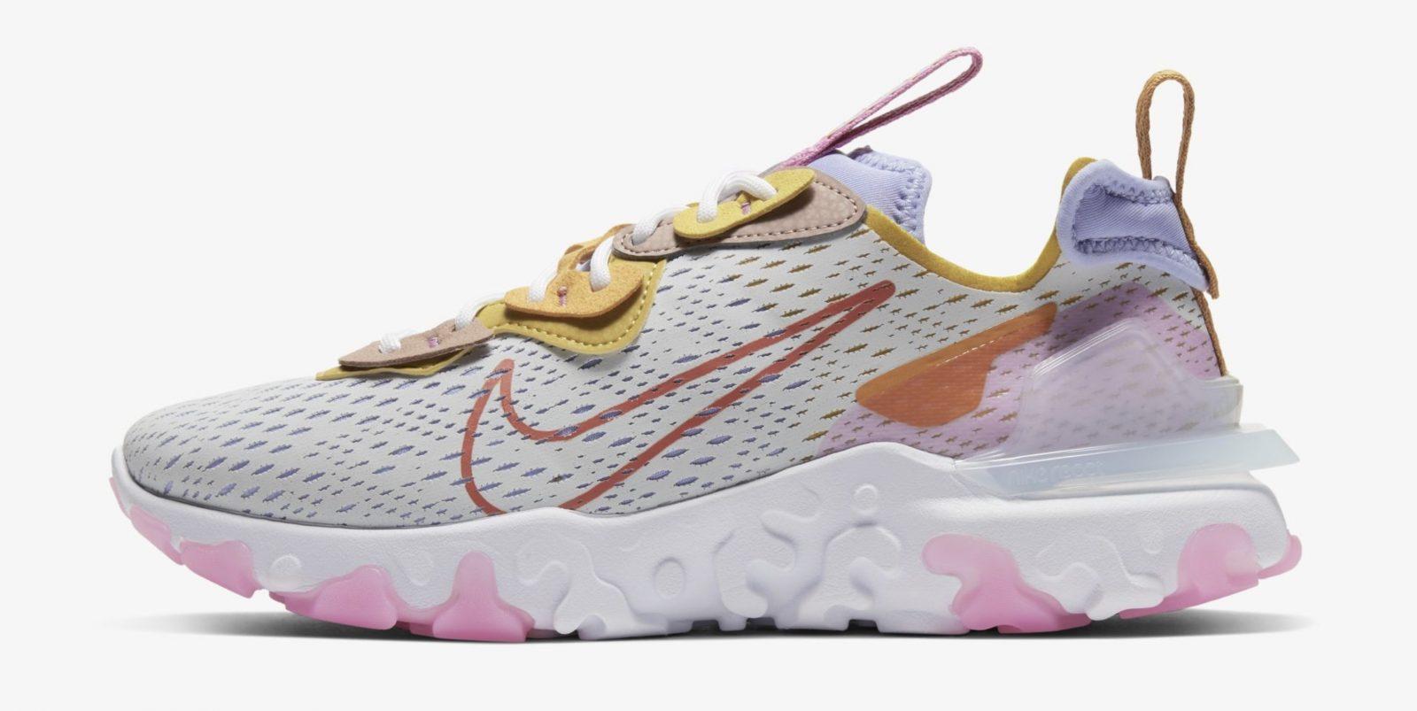 Nike React Vision Platinum Pink | CI7523-003 left