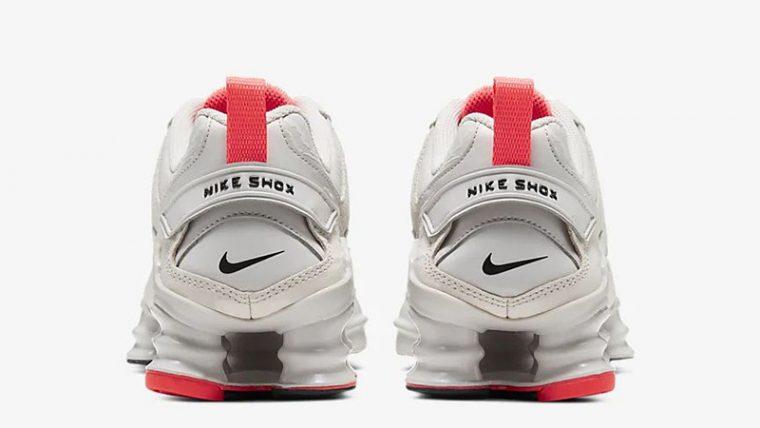 Nike Shox TL Nova Vast Grey CU3445-001 back thumbnail image
