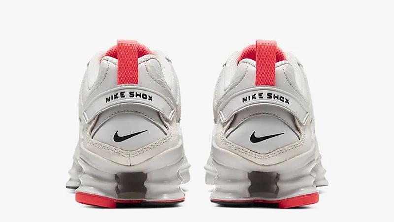 Nike Shox TL Nova Vast Grey CU3445-001 back