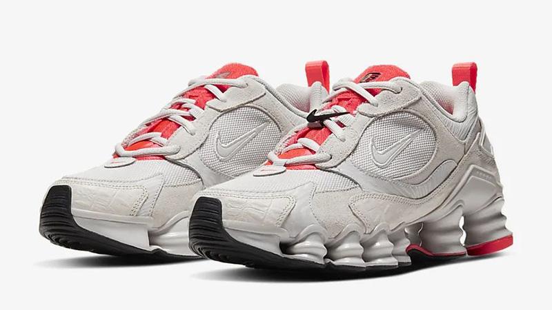 Nike Shox TL Nova Vast Grey CU3445-001 front