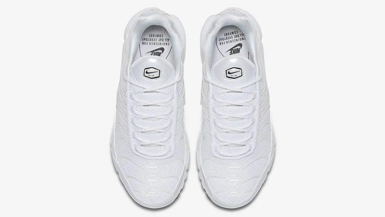 Nike TN Air Max Plus Premium White 848891-100 middle thumbnail image