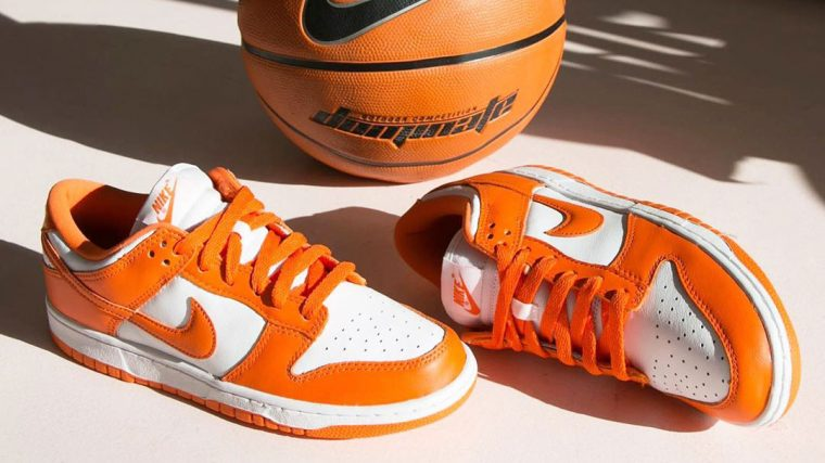 Nike dunk Low Blaze Orange