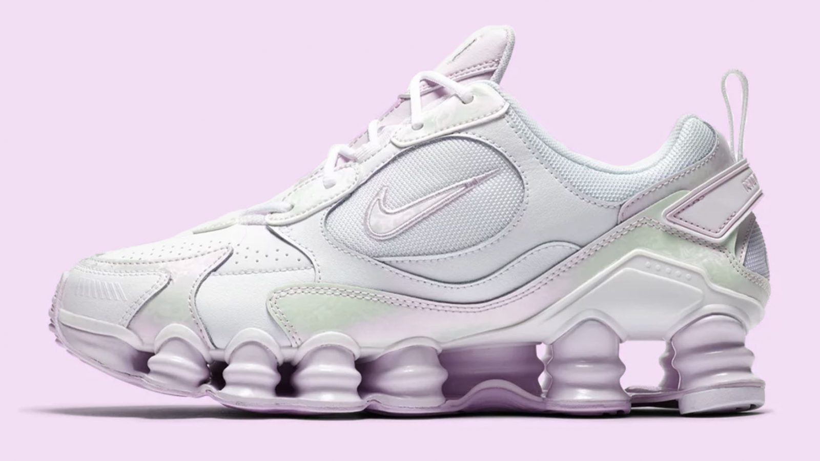 Nike. Shox TL Nova Barely Grape copy