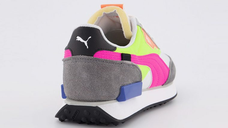 PUMA Rider Play On White Castlerock Yellow back thumbnail image