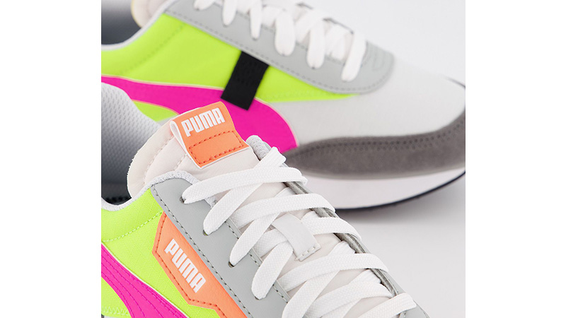 PUMA Rider Play On White Castlerock Yellow middle