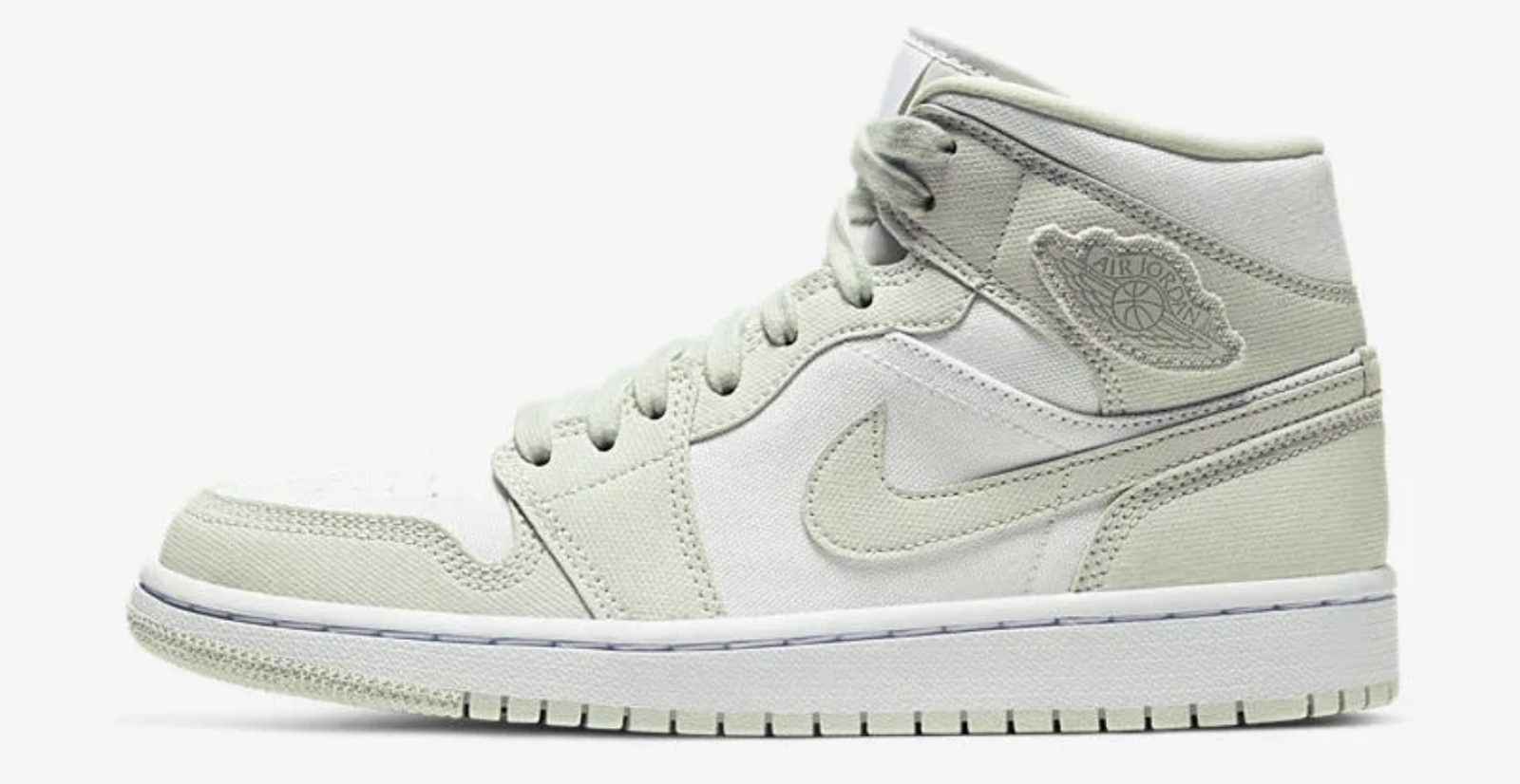 Pistachio Hues Create The Perfect Spring-Ready Nike Air Jordan 1 Mid 2 left