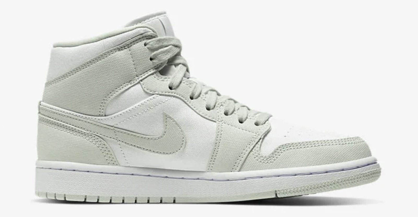 Pistachio Hues Create The Perfect Spring-Ready Nike Air Jordan 1 Mid 2 right