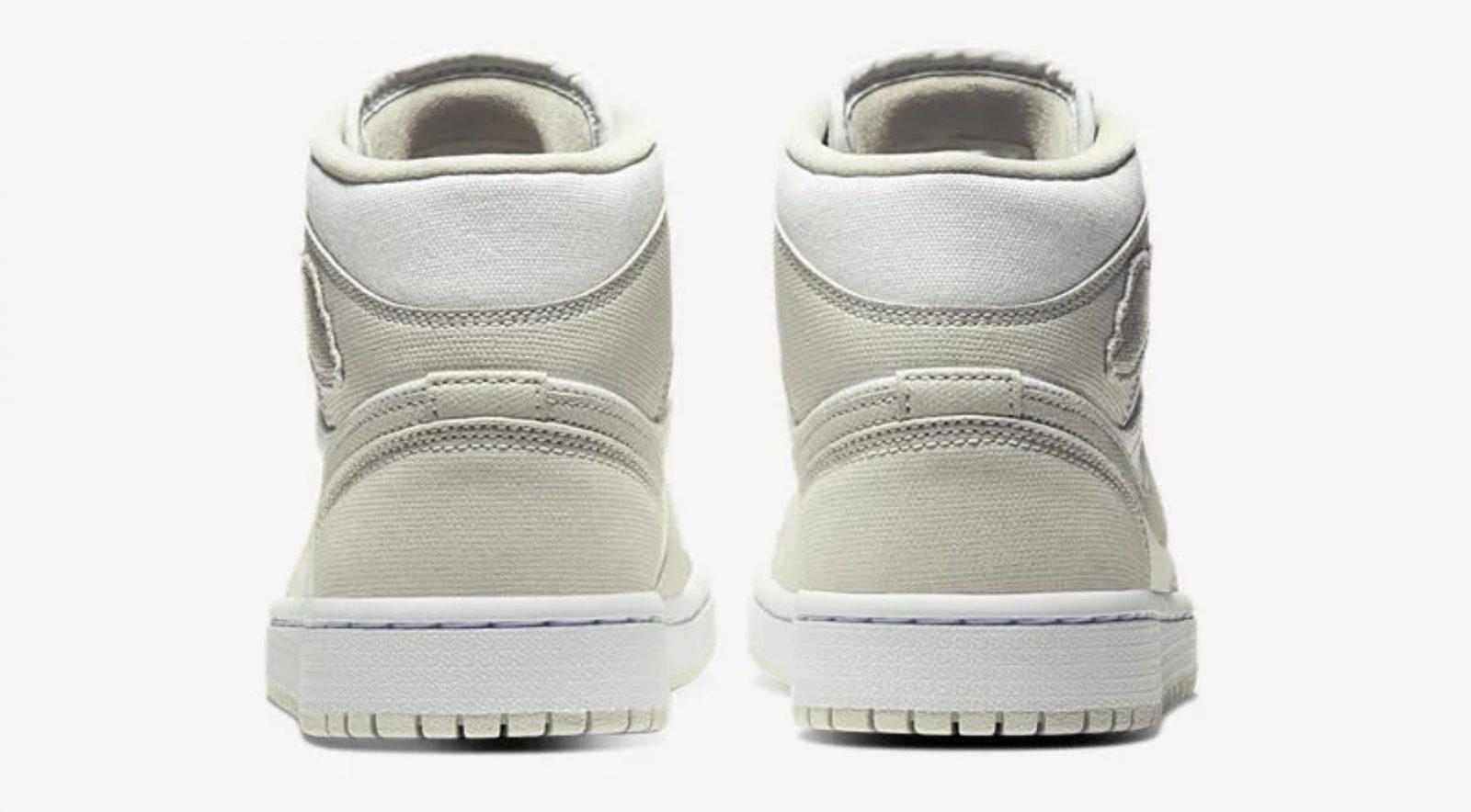 Pistachio Hues Create The Perfect Spring-Ready Nike Air Jordan 1 Mid 2 heel