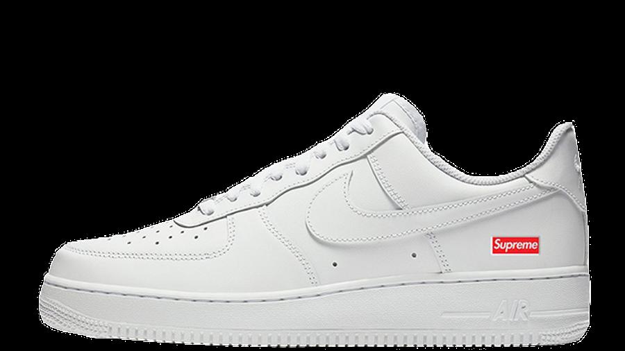 Supreme x Nike Air Force 1 Low White CU9225-100