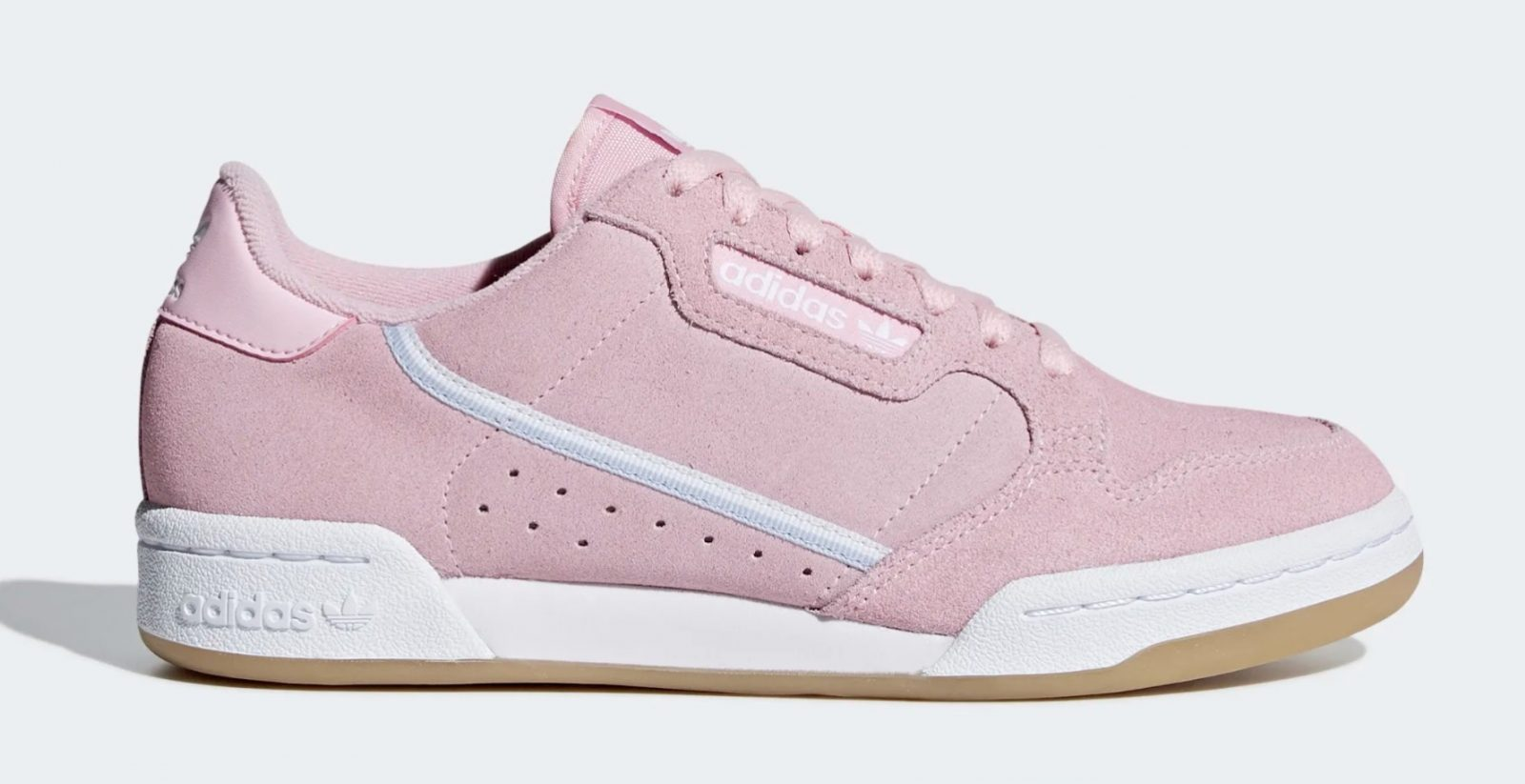 adidas Continental 80 Pink Suede