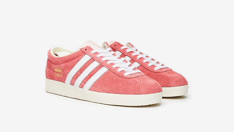 adidas Gazelle Vintage Pink White Ef5576 front