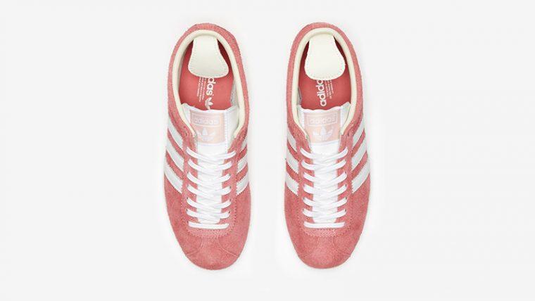 adidas Gazelle Vintage Pink White Ef5576 middle thumbnail image