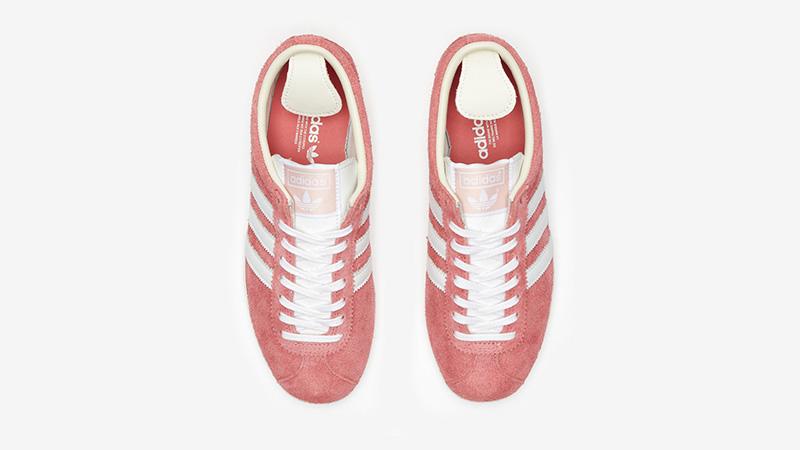 adidas Gazelle Vintage Pink White Ef5576 middle