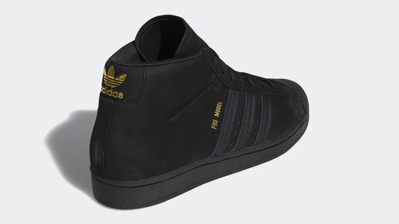 adidas Pro Black Gold FV4694 back