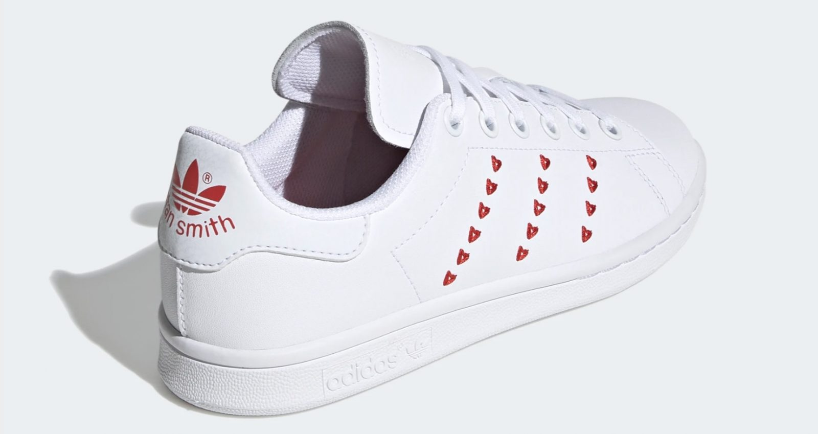 adidas Stan Smith Embroidered Heart 2