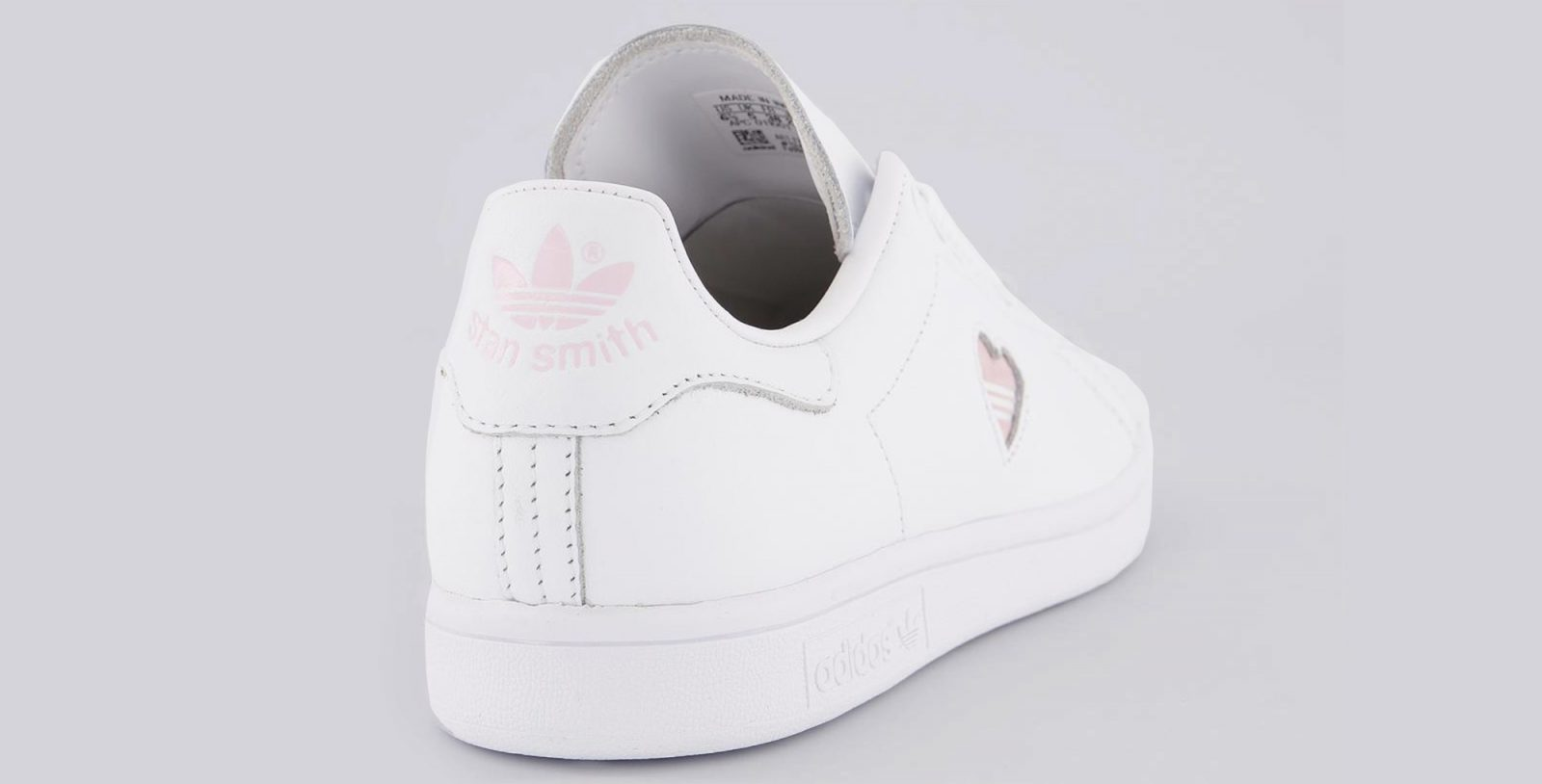adidas Stan Smith Heart Pink 2