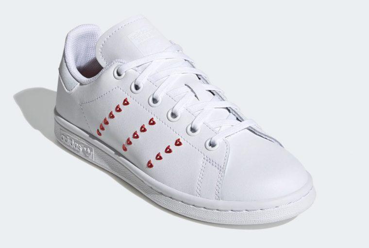 adidas Stan Smith Valentines Heart | EG6495 5 laces thumbnail image