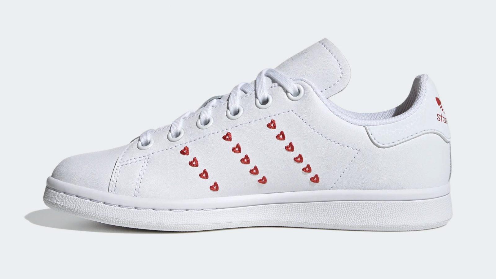 adidas Stan Smith Valentines Heart | EG6495 5