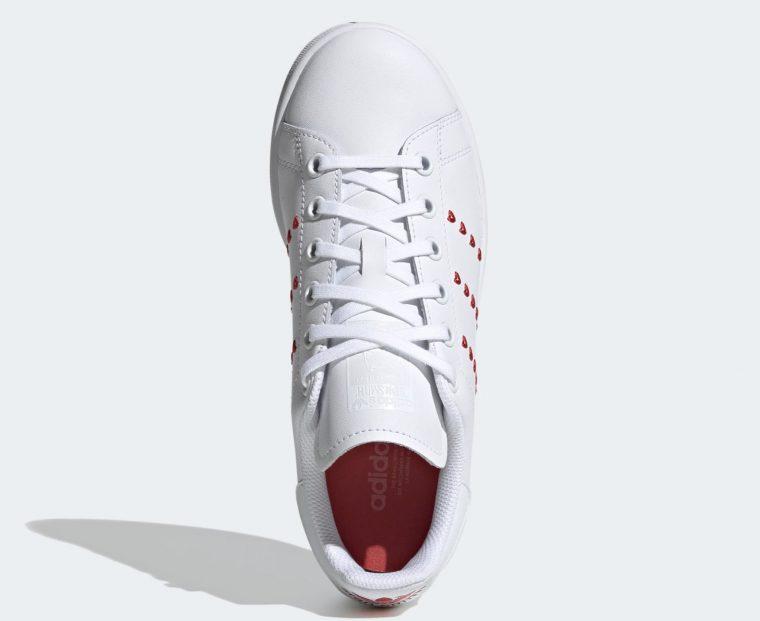 adidas Stan Smith Valentines Heart | EG6495 5 top thumbnail image