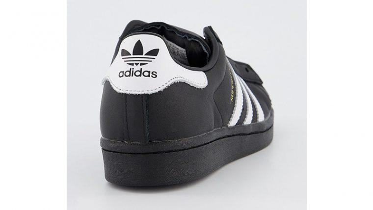 adidas Superstar Black White back thumbnail image